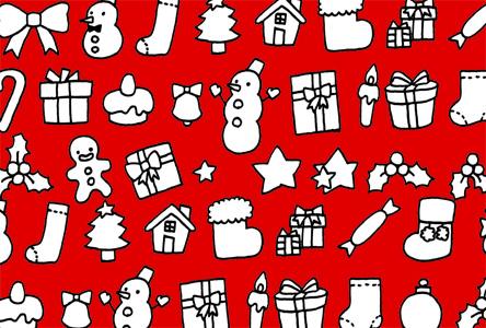 クリスマス,クリスマスカード,イラスト,無料,シンプル,