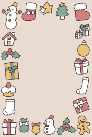 クリスマスカード,クリスマス,無料,イラスト,シンプル